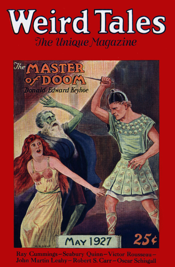 Weird Tales May 1927