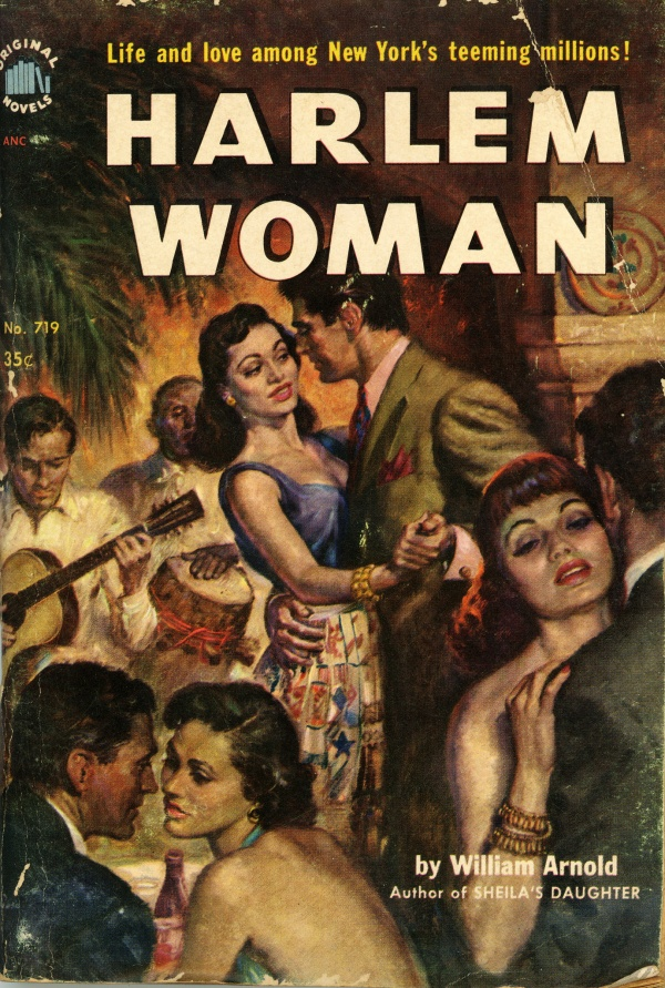 Original Novels 719 - William Arnold - Harlem Woman