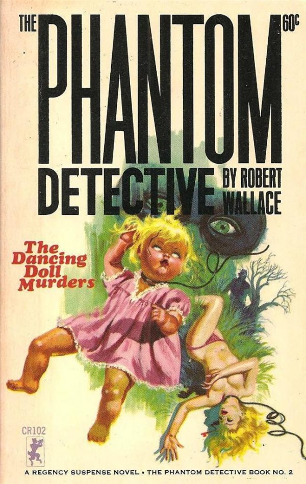 Phantom Detective #2 The Dancing Doll Murders
