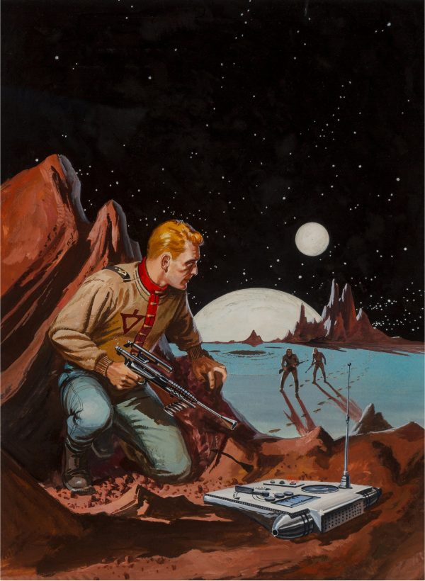 Planet of No Return paperback cover, 1956