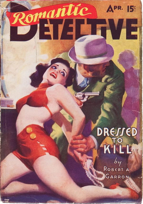 Romantic Detective April 1938