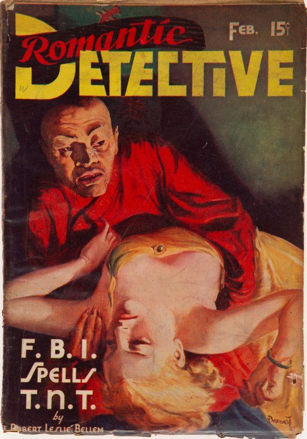 Romantic Detective - February 1938