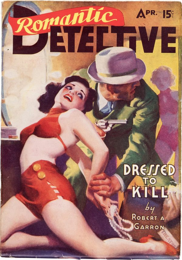 Romantic Detective Magazine - April 1938