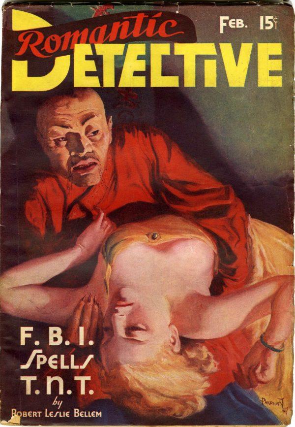 Romantic Detective V1#1 February 1938