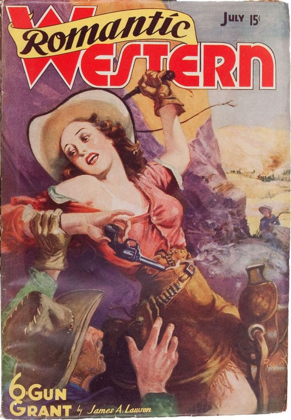 Romantic Western July 1938