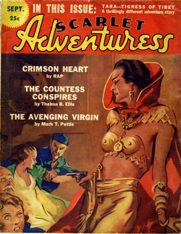 Scarlet Adventuress - September 1936