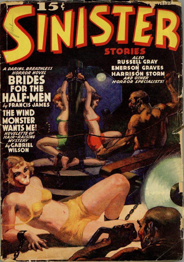 Sinister Stories February 1940