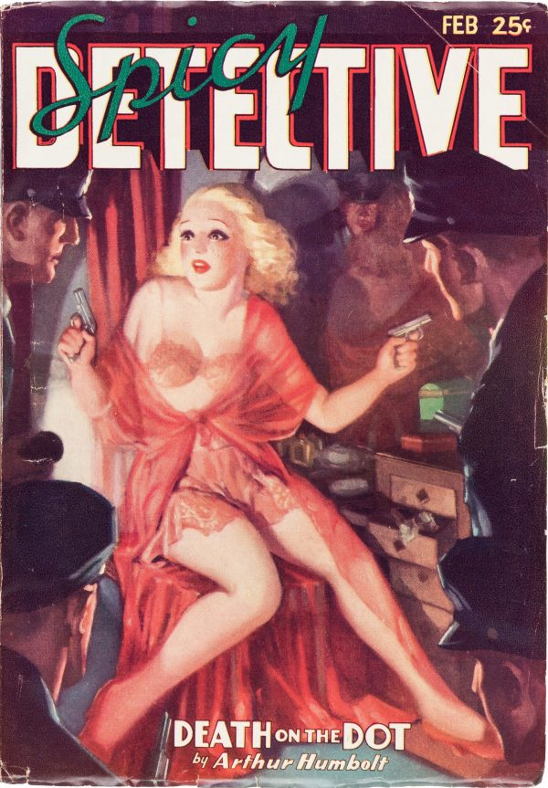 Spicy Detective - February 1936