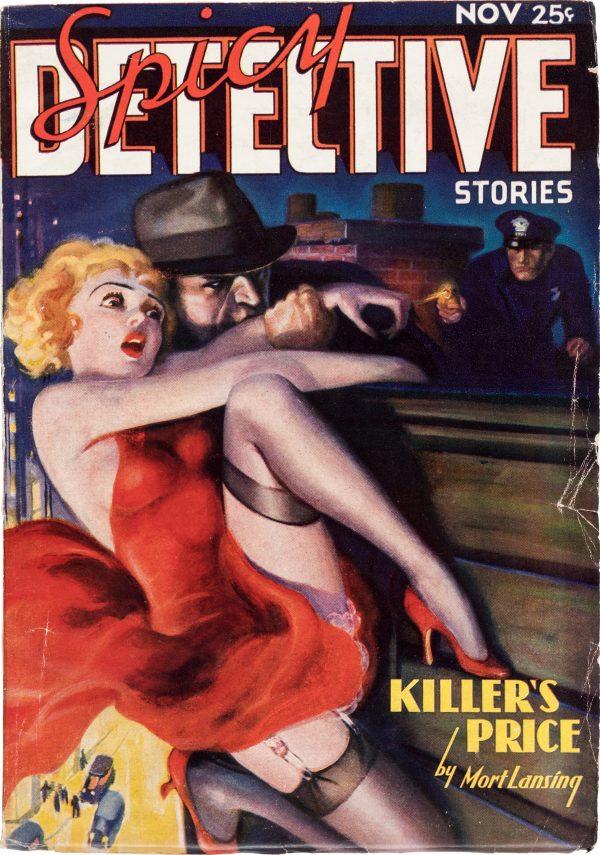 Spicy Detective - November 1936