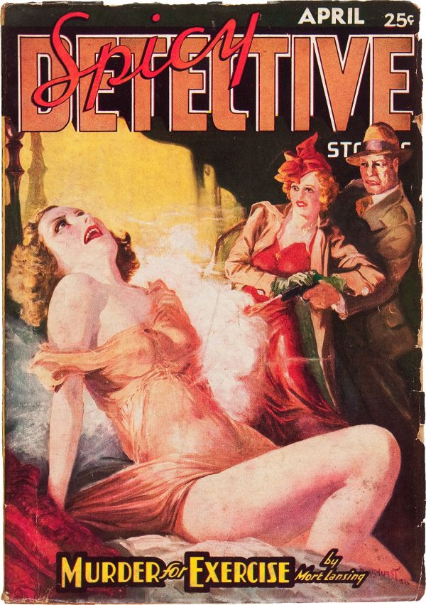 Spicy Detective Stories - April 1937