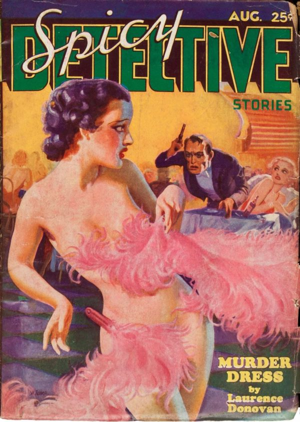 Spicy Detective Stories August 1935