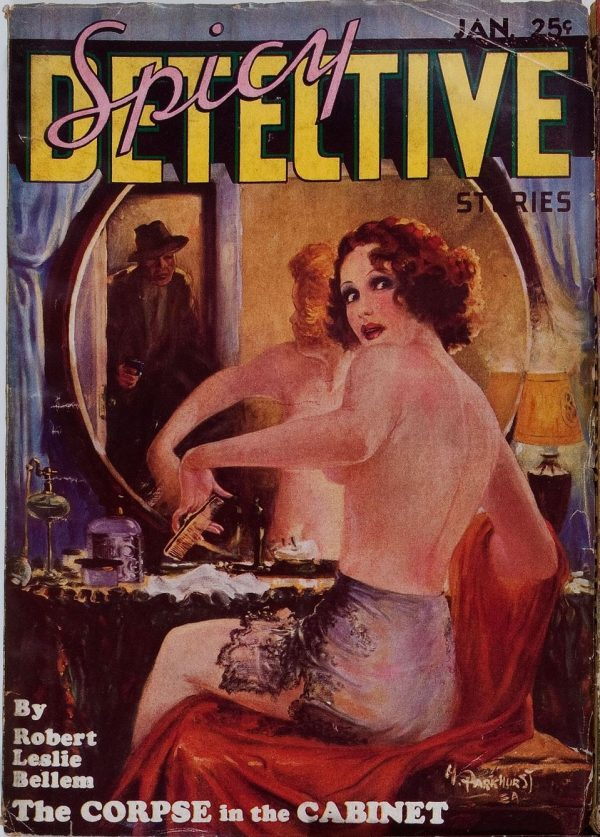 Spicy Detective Stories January 1935