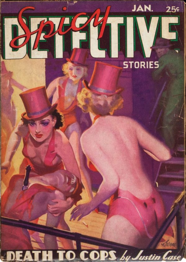 Spicy Detective Stories January 1937