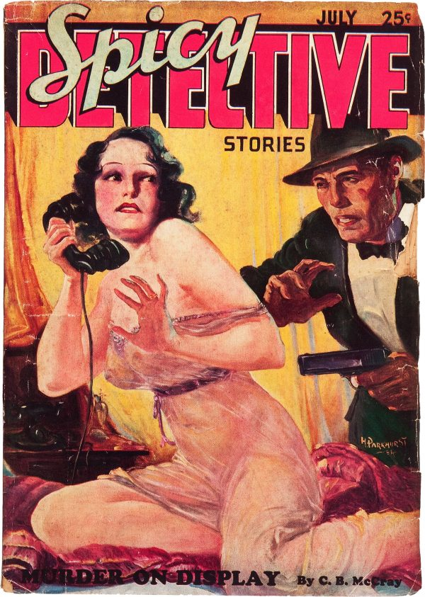 Spicy Detective Stories - July 1934
