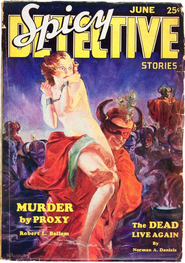 Spicy Detective Stories - June 1934