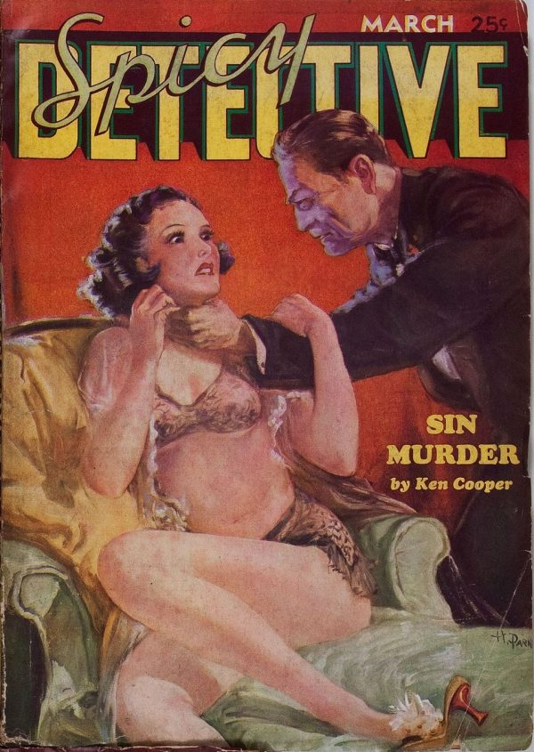 Spicy Detective Stories March 1935