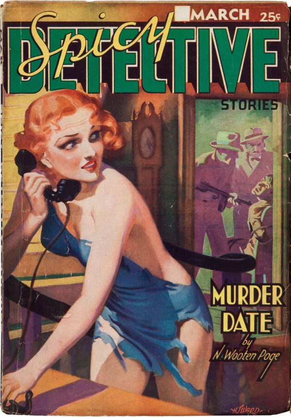 Spicy Detective Stories March 1937