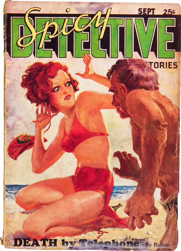 Spicy Detective Stories - September 1934
