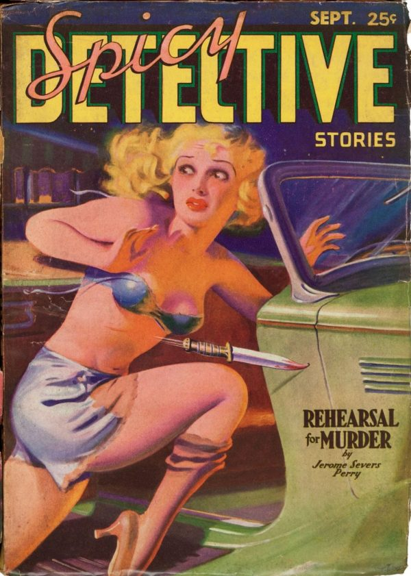Spicy Detective Stories September 1935