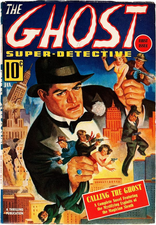 The Ghost - Super Detective, V1#1 1940