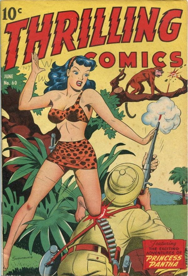Thrilling Comics June 1947