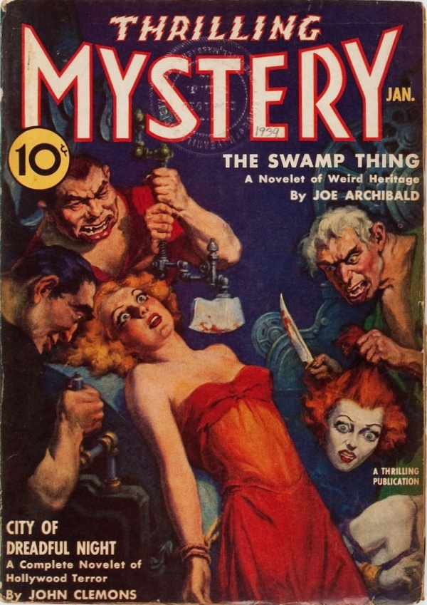 Thrilling Mystery - January 1939