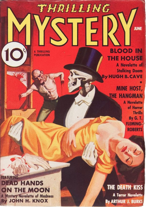 Thrilling Mystery June 1936