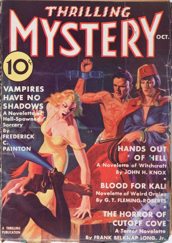 Thrilling Mystery October 1936