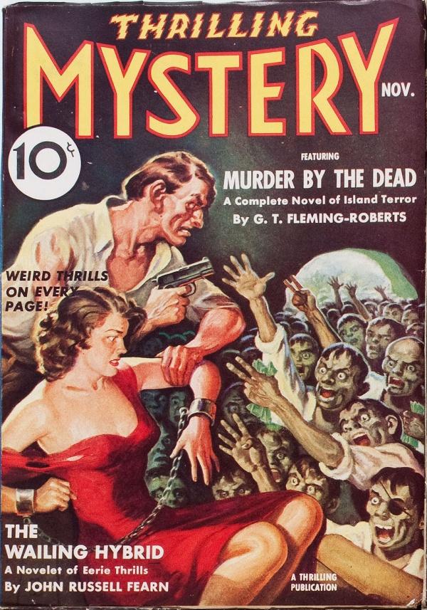 Thrillling Mystery November 1938