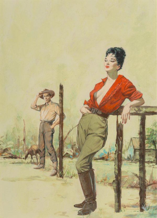 Untamed paperback cover, 1960