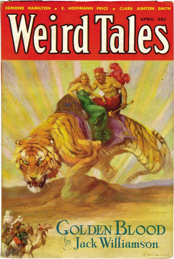 Weird Tales April 1933