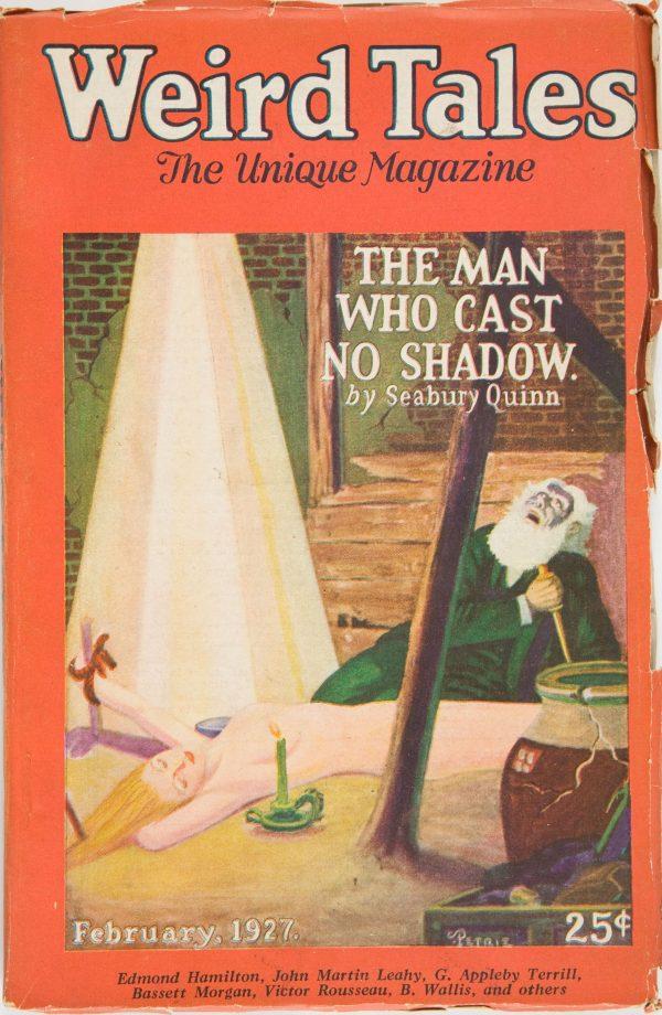 Weird Tales February 1927