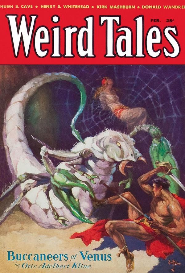 Weird Tales February 1933