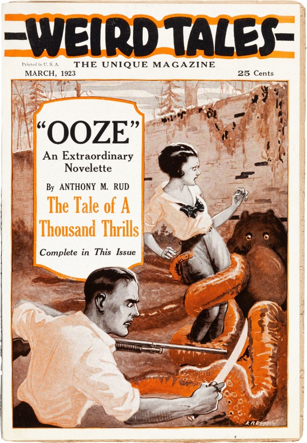 Weird Tales - March 1923 First Issue