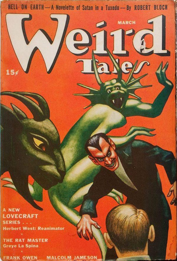 Weird Tales, March 1942