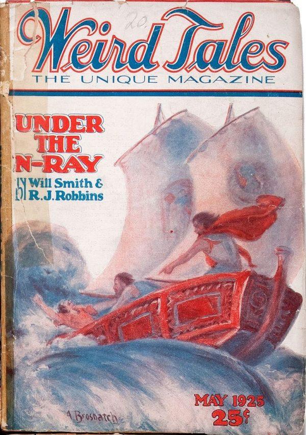 Weird Tales May 1925