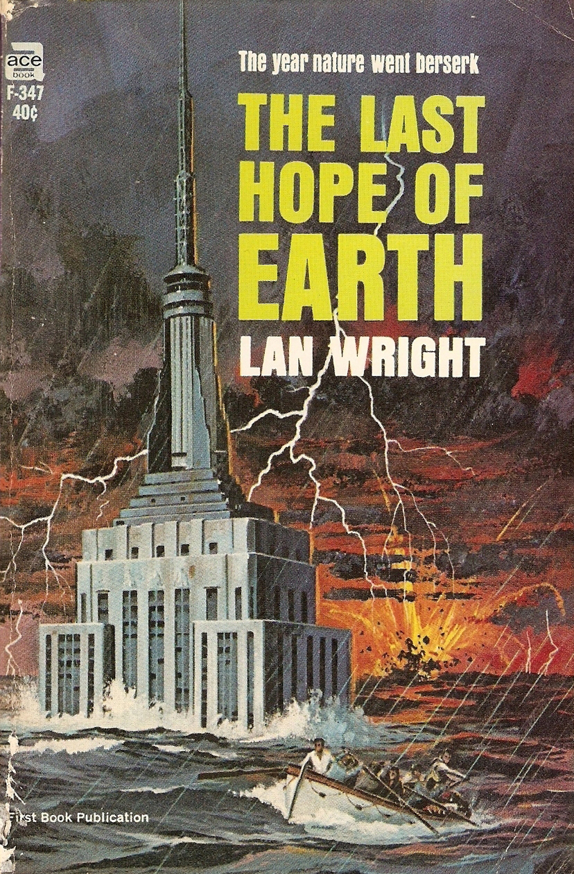 The Last Hope Of Earth – Pulp Covers