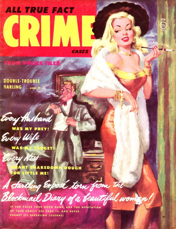 ALL TRUE FACT CRIME CASES (February 1952) Vol. 2, No. 6