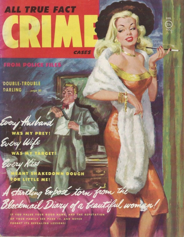 All True Fact Crime February 1952