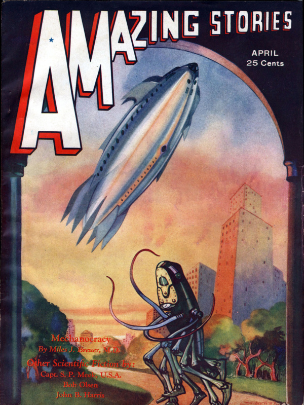 Amazing Stories April 1932