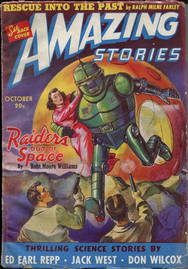 Amazing Stories, October 1940