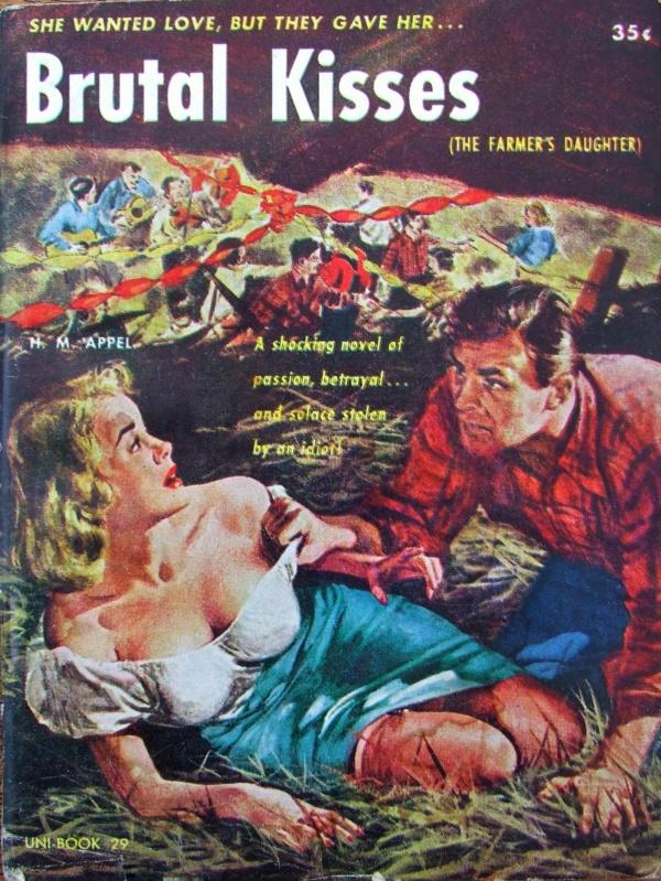 Brutal Kisses Uni Books, 1952