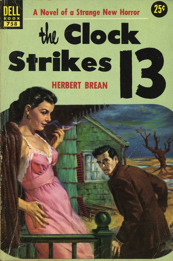 Dell Books 758 - Herbert Brean - The Clock Strikes 13