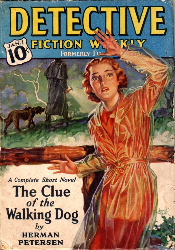 Detective Fiction January 1938