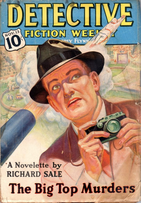 Detective Fiction November 13 1937