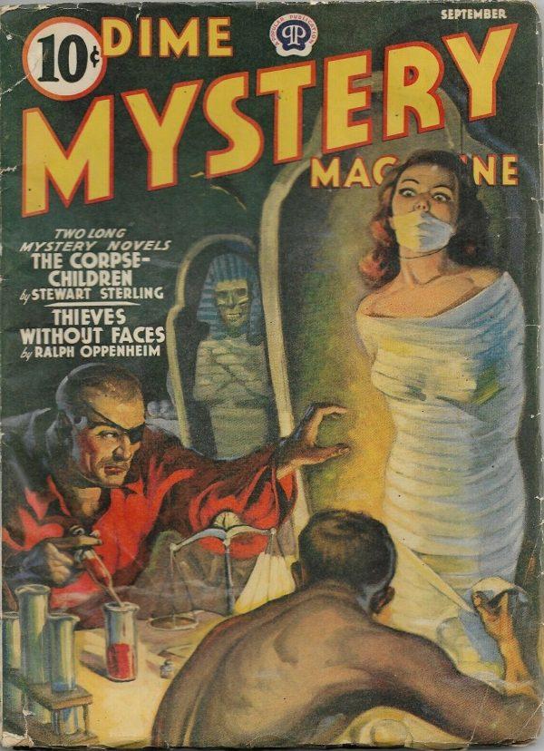 Dime Mystery Magazine September 1940