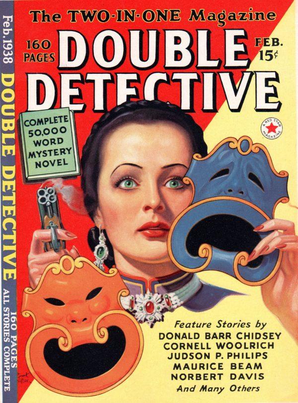 Double Detective, February 1938