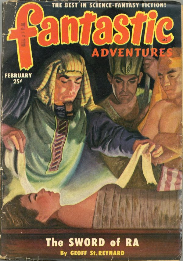 Fantastic Adventures February 1951