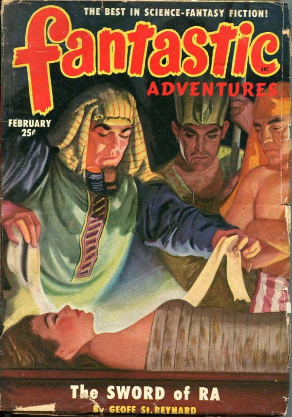 Fantastic Adventures February 1951