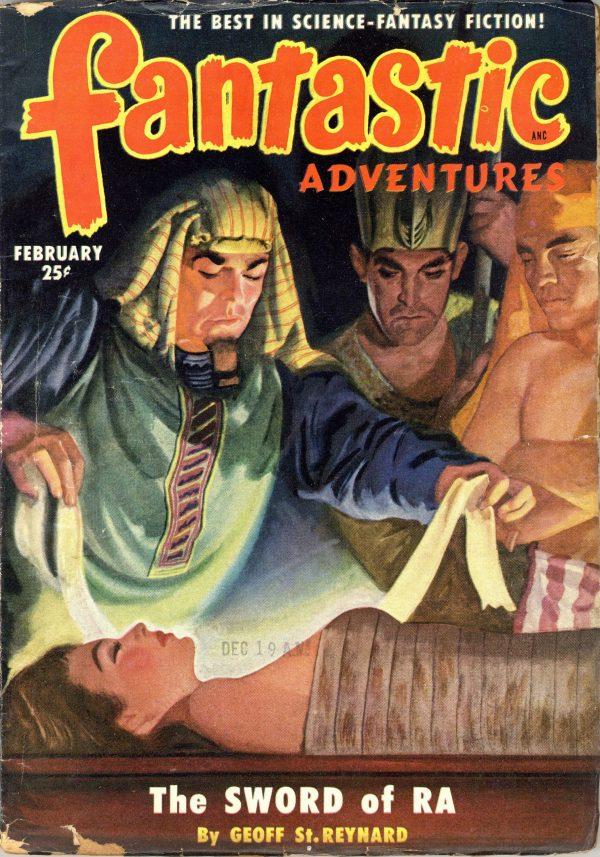 Fantastic Adventures Magazine February 1951
